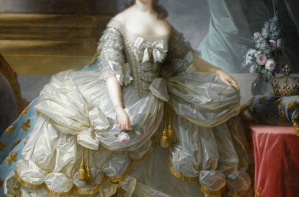 Elisabeth-Louis-Vigee-Le Brun, Marie-Antoinette, reine de France, 1755-1793, courtesy of Château de Versailles.