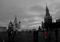 Adam Baker, Red Square, Red Coat, 2006.